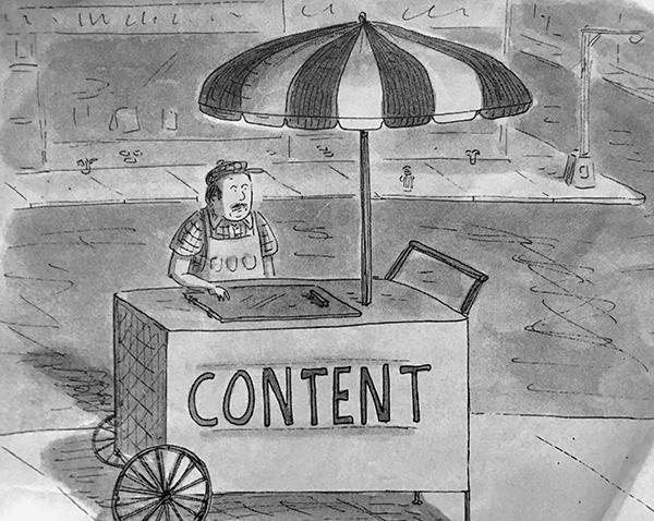 content street cart